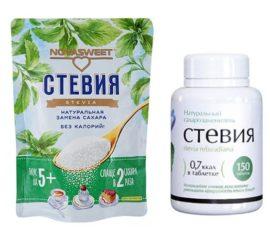 сахарозаменители при диабете 2 типа