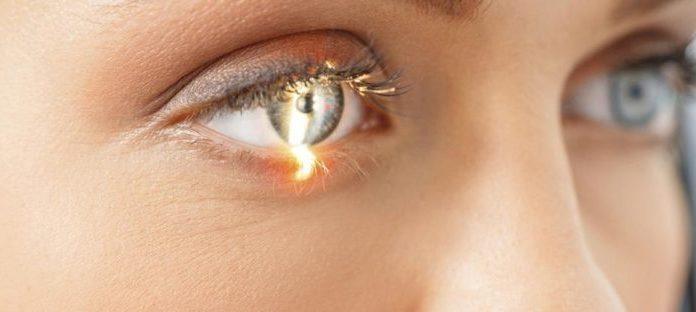 глазы человек с диабетической ретинопатией