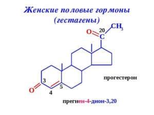 гестаген и его формула