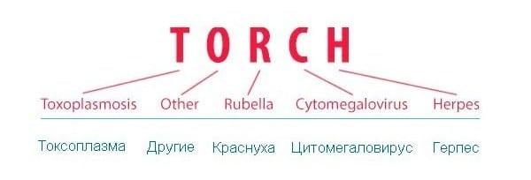 ТОРЧ инфекции и их расшифровка