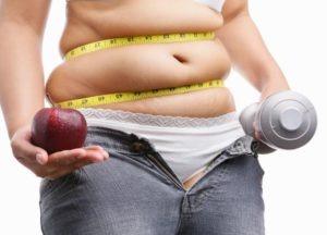 женщина с андроидным типом ожирения
